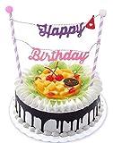 Birthday Party Cake Decoration Cake Topp...