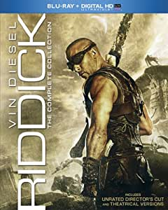 Riddick: Complete Collection [Blu-ray] [US Import]