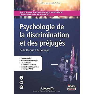 Psychologie de la discrimination et des préjuges : De la théorie à la pratique
