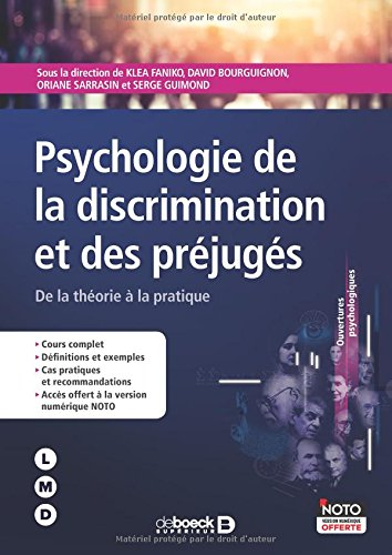 Psychologie de la discrimination et des préjuges : De la théorie à la pratique par Klea Faniko