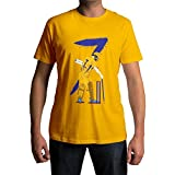 Fully Filmy Dhoni 7 Tribute Round Neck Cotton Unisex T-Shirt