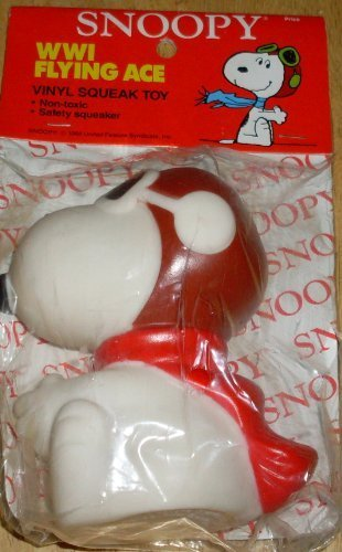 vintage-peanuts-snoopy-world-war-i-flying-ace-pilot-squeak-squeeze-toy-by-snoopy-squeak-toy