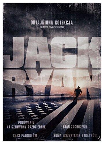 Jack Ryan: Odtasjniona Kolekcja [DVD] (Keine deutsche Version)