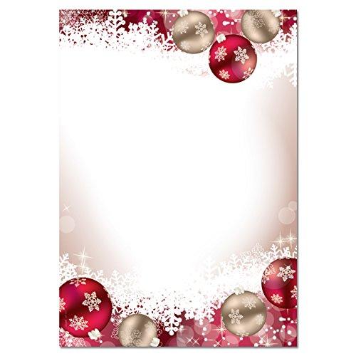 Rot-inkjet-drucker (SIGEL DP041 Briefpapier Weihnachten