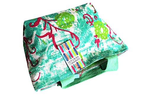 Borsetta mare Gian Marco Venturi moda mare l.strisce 44383 verde