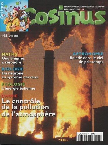 cosinus-n-93-chimie-le-contrle-de-la-pollution-de-l-39-atmosphre