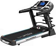 Marshal Fitness Heavy Duty Auto Incline Treadmill with 125kgs Weight Capacity -PKt-3150-4 (Black)