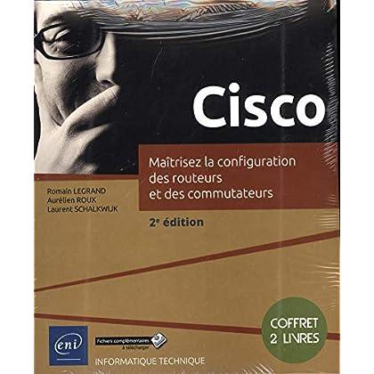 Cisco - Coffret de 2 livres : Maîtrisez la configuration des routeurs et des commutateurs (2e édition)