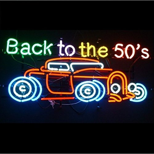 96337027476 hotrodspirit – Neon Advertising Back To The 50 's Hot Rod Garage Diner 7101359605908