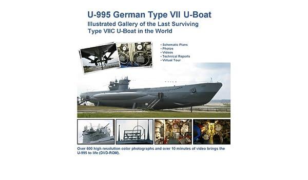 Amazon.in: Buy U-995 German Type VII U-Boat - Illustrated Gallery of