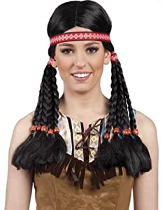 Boland - Peluca para Disfraz de Adulto India (86415)