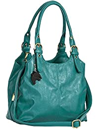 BHSL Womens Multiple Pockets Medium Size Long Strap Shoulder Bag - with a  Branded Protective Storage… 51edcd491d584