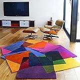 Zheng Hui Shop Tappeti di Colore Irregolare Soggiorno tavolino Divano Tappeto tappeti Studio Camera dei Bambini (Size : 120 * 170cm)