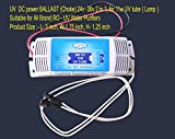 Pokar RO Yesh DC power BALLAST (Choke) 24v - 36v (2 in 1) for 11w UV tube Suitable for All Brand RO- UV Water Purifiers
