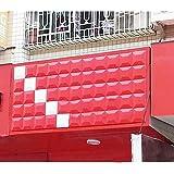Yazi 4piezas 3d de revestimiento de pared azulejos almacenar fondo Junta Panel papel pintado decoración cuadrada de 300x 300mm 16Color