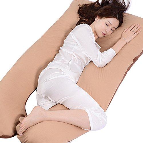 LJHA Femmes Enceintes Oreiller Taille côté dormeur Multi-Fonction Soins Infirmiers Taille Oreiller Oreiller 5 Couleurs Disponibles 1300 * 700mm Oreillers d'allaitement (Couleur : D)