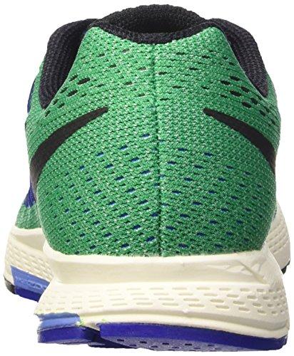 Nike Wmns Air Zoom Pegasus 32, Chaussures de Sport Femme Vert (Lucid Green/Blk-Chlk Bl-Rcr Bl)