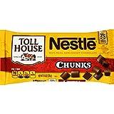 Pack of 1 : NESTLE TOLL HOUSE Semi-Sweet Chocolate Chunks 11.5 oz. Bag