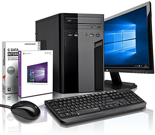 "Komplett PC-Paket Entry-Gaming / Multimedia COMPUTER mit 3 Jahren Garantie! | Quad-Core! AMD A10-4655 4 x 2800 MHz | 4096MB DDR3 | 500GB S-ATA II HDD | AMD Radeon HD 7620G 4096 MB HDMI/VGA mit DirectX11 Technology | USB3 | DVD±RW | Windows10 Professional 64-Bit | 22"" LED TFT Monitor 