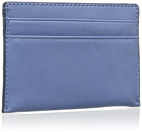 DKNY - Card Holder, Borsetta pochette Donna Blu