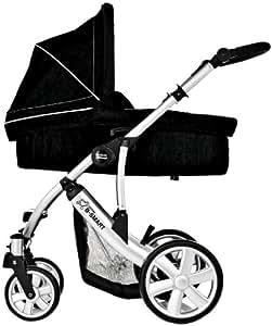 britax 2000002358 b smart 4 kombiwagen mit kinderwagenaufsatz neon schwarz baby. Black Bedroom Furniture Sets. Home Design Ideas