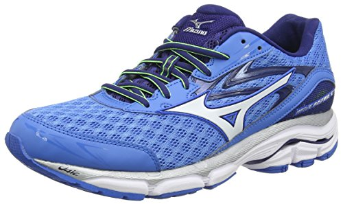 MizunoWave Inspire 12 - Scarpe Running uomo, Blu (French Blue/White/Twilight Blue), 43