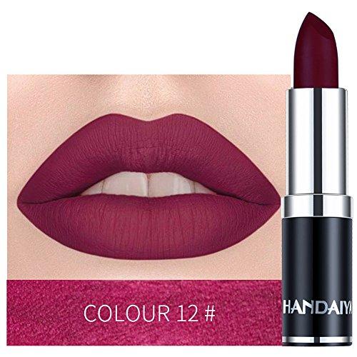 BHYDRY Wasserdichter Lippenstift-Mattkürbis-Farblippenstift Essen Sie Erde-reiche Vitamin E-Feuchtigkeit