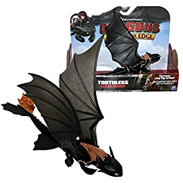 Dragons – Action Game Set – Drago Sdentato notte con le ali mobili – Toothless