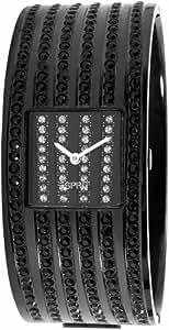 Esprit Damen-Armbanduhr Galaxy Clara Black Analog Quarz ES101182003
