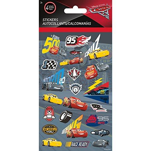 Sandylion Disney Standard Stickers 4 Sheets-Cars 3