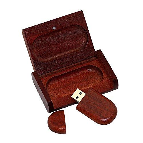 Eliteguard Holz USB Flash Drive 8 GB 2.0 Geschenk mit Holzbox