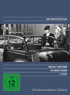 In jenen Tagen - Zweitausendeins Edition Deutscher Film 1/1947