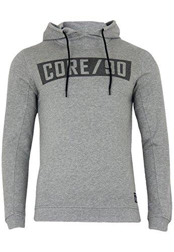 Jack & Jones Herren Sweatshirt Jcobovid Sweat Slim Light Grey Melange