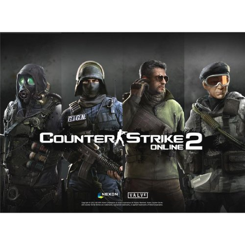 Counter-Strike-Poster-On-Silk-47-x-35-cm-or-81-x-60-cm-19-x-14-inch-or-32-x-24-inch-Seide-Plakat-57D3F6