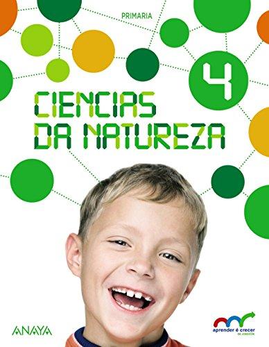 Ciencias da Natureza 4. (Aprender é crecer en conexión) - 9788467880175 por Ricardo Gómez Gil