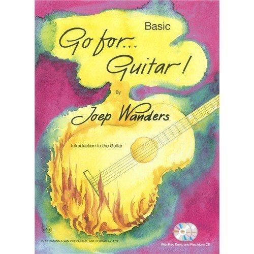 Joep Wanders: Go For.Guitar! - Basic (Book/2 CDs). Für Gitarre