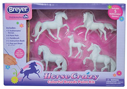 Breyer Horse Crazy Colourful Breeds Paint Kit by Breyer