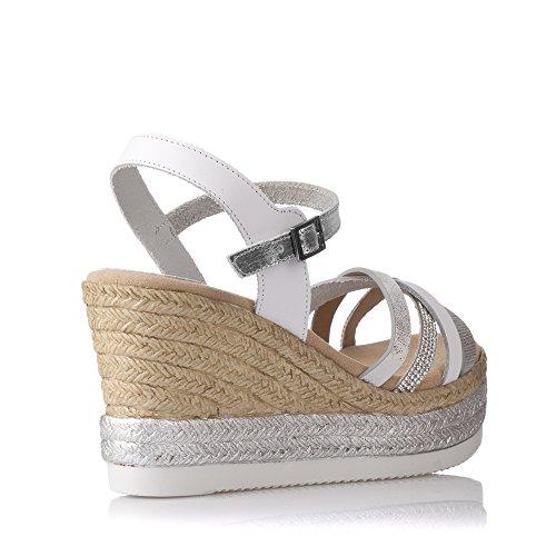 Porronet , Damen Sandalen Weiß