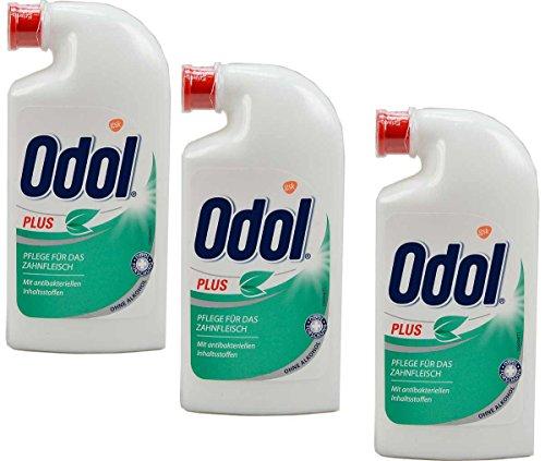 3x-odol-mundspulung-plus-pflege-fur-das-zahnfleisch-125ml-antibakteriell