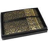 Sari Small Black Handbound Photo Album (16cm x 22cm)