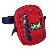 trailMAX 500 Front Pocket Rot Satteltasche, Western Packtasche