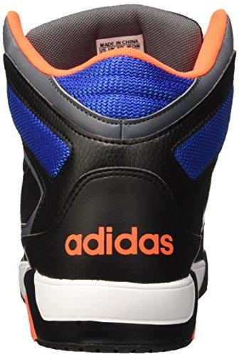 adidas Bb9Tis, Chaussures pour Le Basketball Homme Multicolore - mehrfarbig (Cblack/Ftwwht/Sorang)