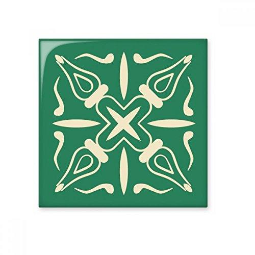 DIYthinker Talavera-Art-Grün Dekorative Muster glatt Fliesen Badezimmer Küchen-Wand-Stein Dekoration Fertigkeit-Geschenk -