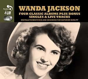 Four Classic Albums [Audio CD] Wanda Jackson