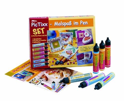 Hobby Line 49800 - PicTixx Malspaß im Pen 6er Set
