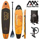 Aqua Marina, Fusion + de aluminio Paddle, Paddle Board, Sup, 330x 75x 15cm