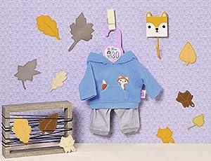 Zapf Creation 870846 Dolly Moda - Traje Deportivo (30 cm), Color Azul y Gris
