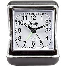 Equity by La Crosse 20080 Folding Travel Quartz Alarm Clock by Equity by La Crosse