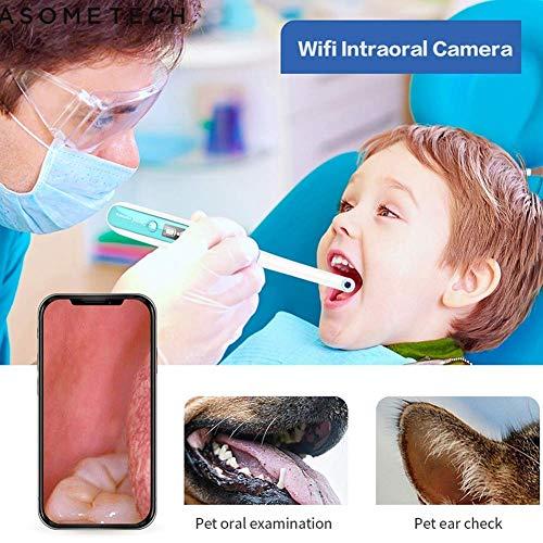 LYLN HD-Endoskop LED-Lichtüberwachung Inspektion Zahnarzt Oral Video Super Klar Intraorale Kamera WiFi Wireless Zahnkamera -