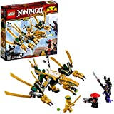 LEGO NINJAGO - Le dragon d'or - 70666 - Jeu de construction